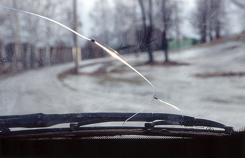 Устранение трещин на лобовом стекле