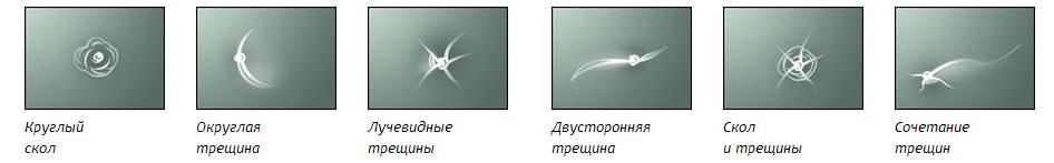 Ремонт сколов на лобовом стекле в СПб