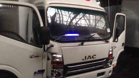 Ремонт скола на китайском грузовике JAC N56