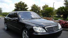 Скол лобового стекла на Mercedes-Benz S-klasse IV (W220)