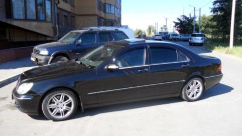 Скол стекла Mercedes-Benz S-klasse IV (W220)