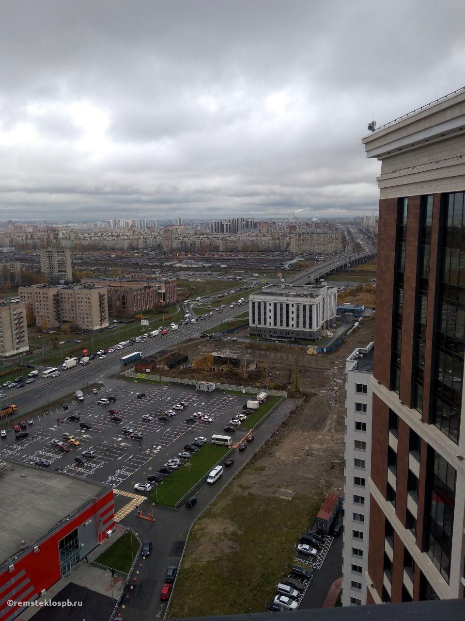 Полировка стеклопакетов в ЖК BAUHAUS СПб