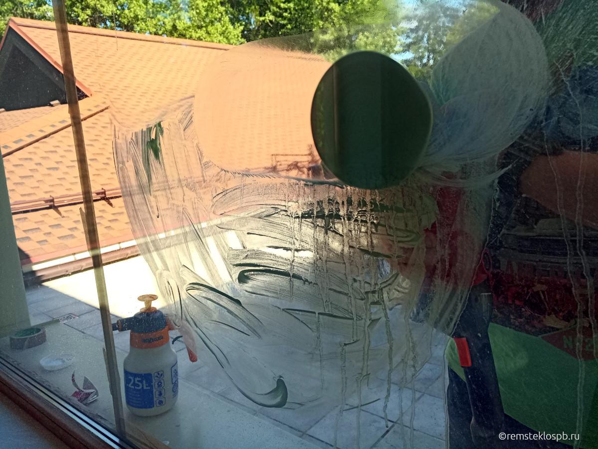 Полировка стеклопакетов в КП «Вартемяги
