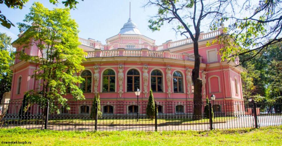 Полировка стекла резиденции Белосельских-Белозерских