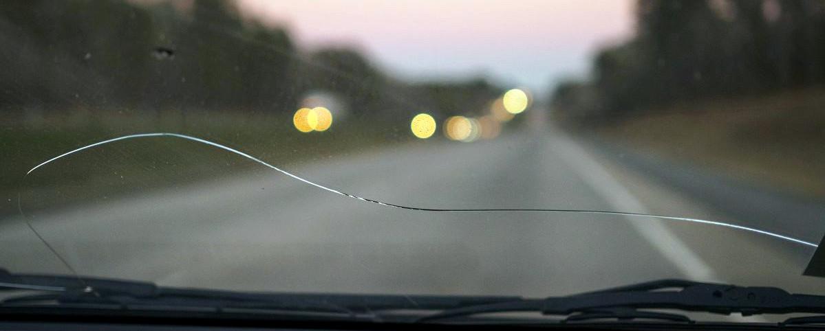 Цена ремонта трещины на лобовом стекле