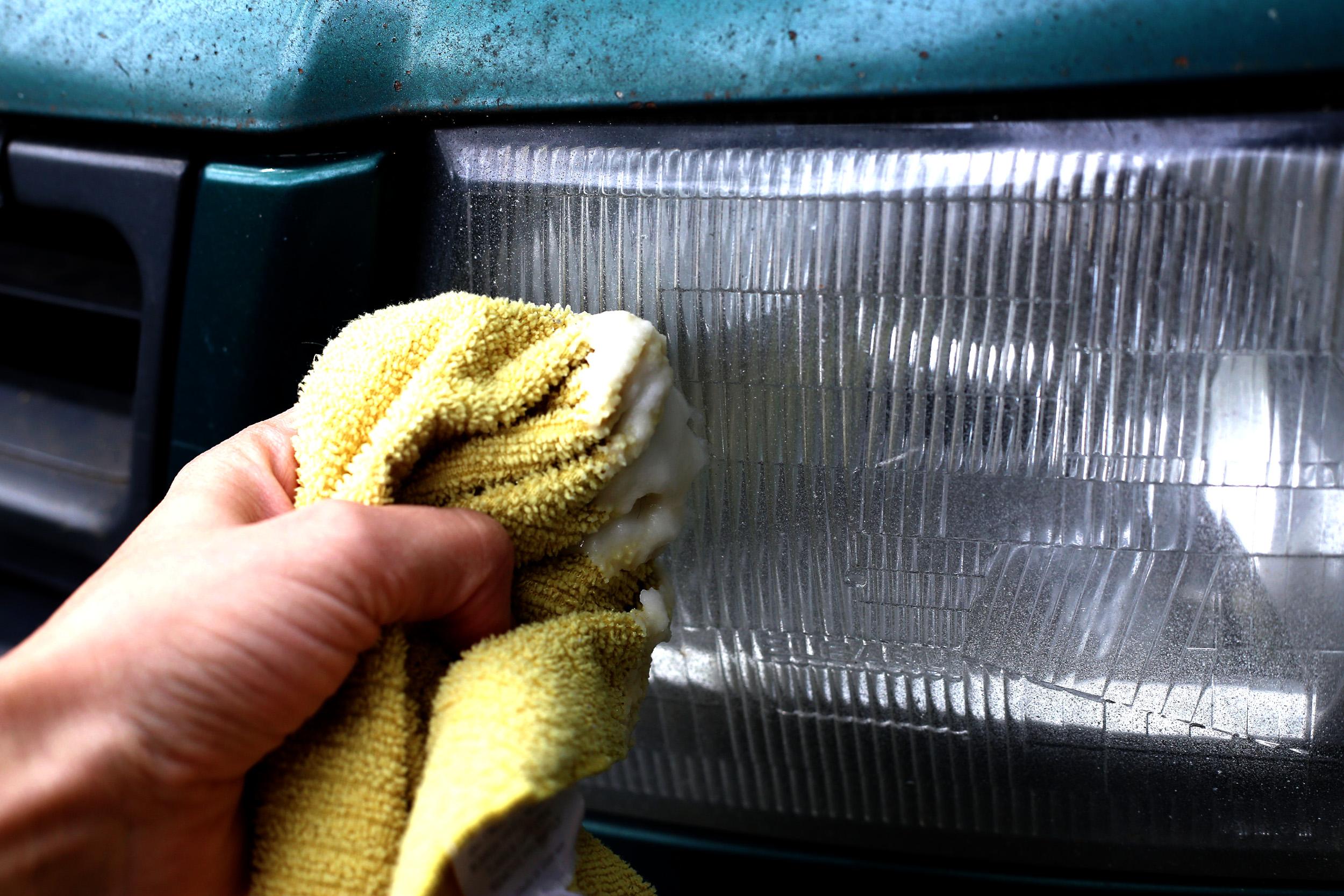 Ручная и механическая полировка фар