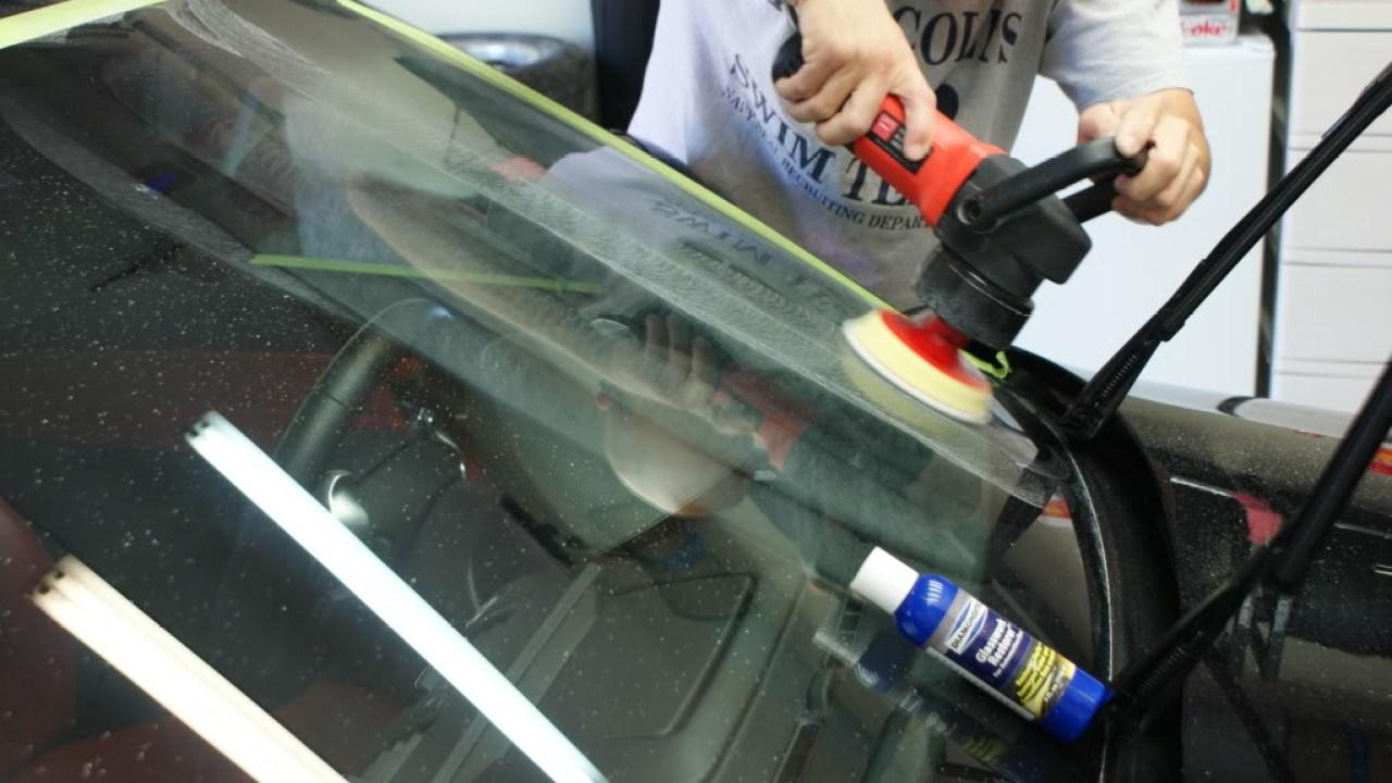 Полировка лобового стекла плюсы и минусы