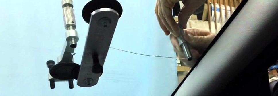 Виды повреждений лобового стекла