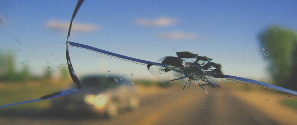 Виды сколов на лобовом стекле