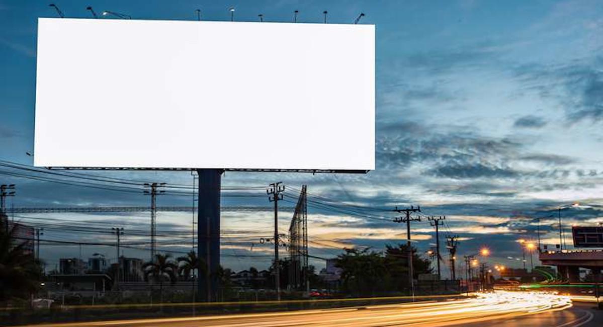 Мойка рекламных конструкций